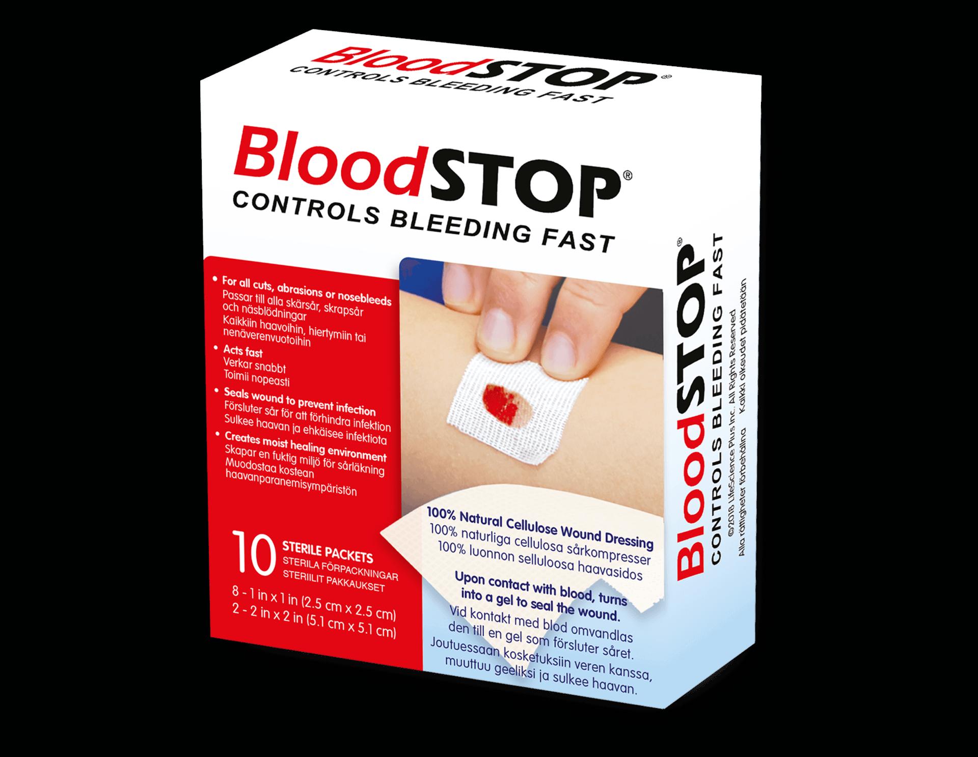 BloodSTOP sidos nenäverenvuodon lopettamiseen
