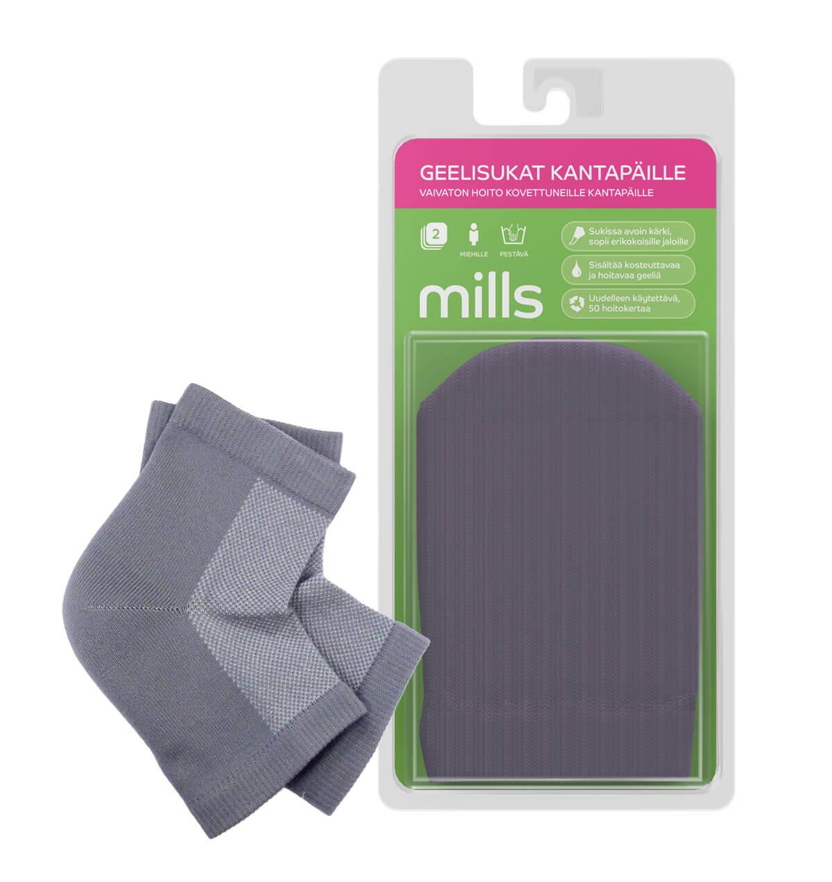 Mills Geelisukat kantapäille